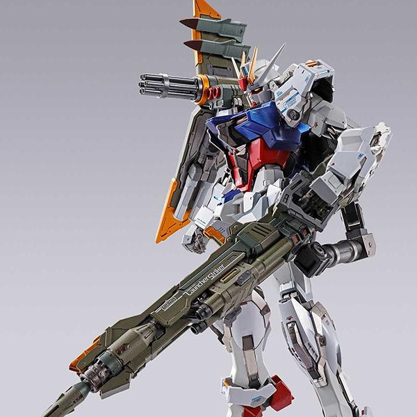 【限定販売】METAL BUILD『ランチャーストライカー』機動戦士ガンダムSEED 可動フィギュア