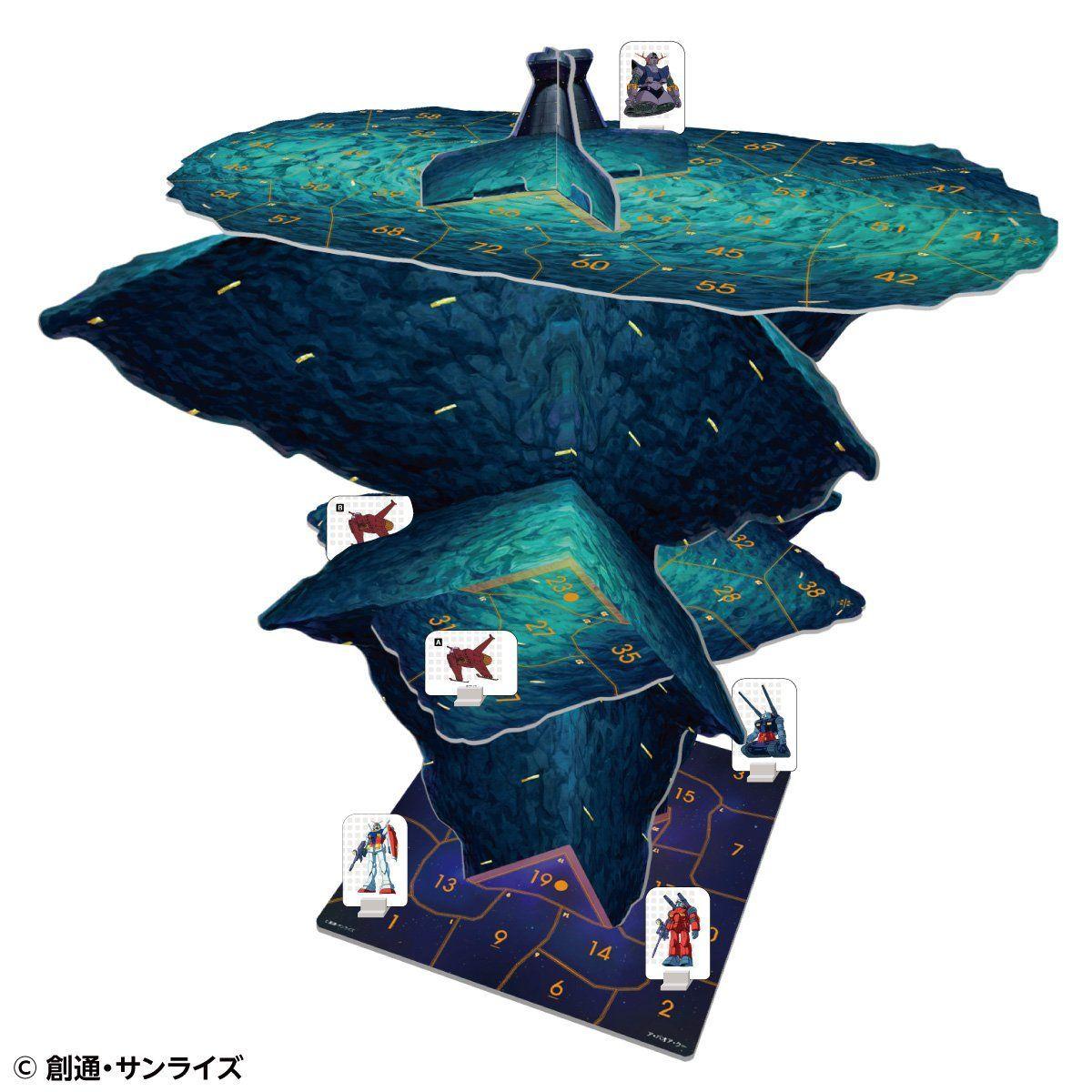 GUNDAM THE GAME『機動戦士ガンダム:めぐりあい宇宙』ボードゲーム-005