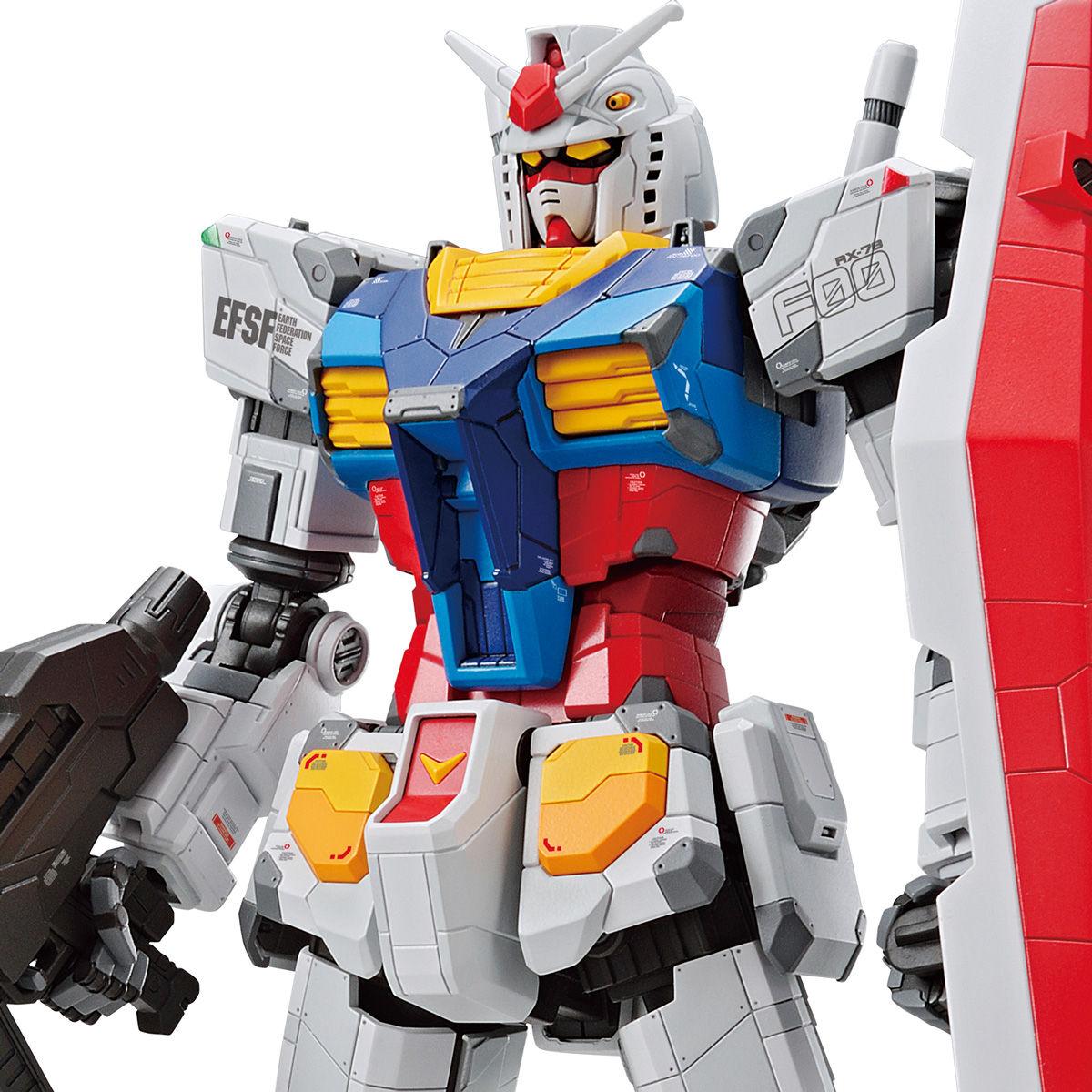 【先行販売】GUNDAM FACTORY YOKOHAMA『RX-78F00 ガンダム』1/100 プラモデル-001