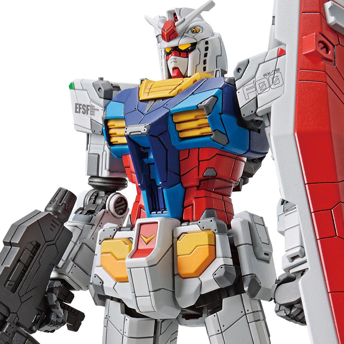 【再販】GUNDAM FACTORY YOKOHAMA『RX-78F00 ガンダム&ガンダムドック』1/144 プラモデル-001