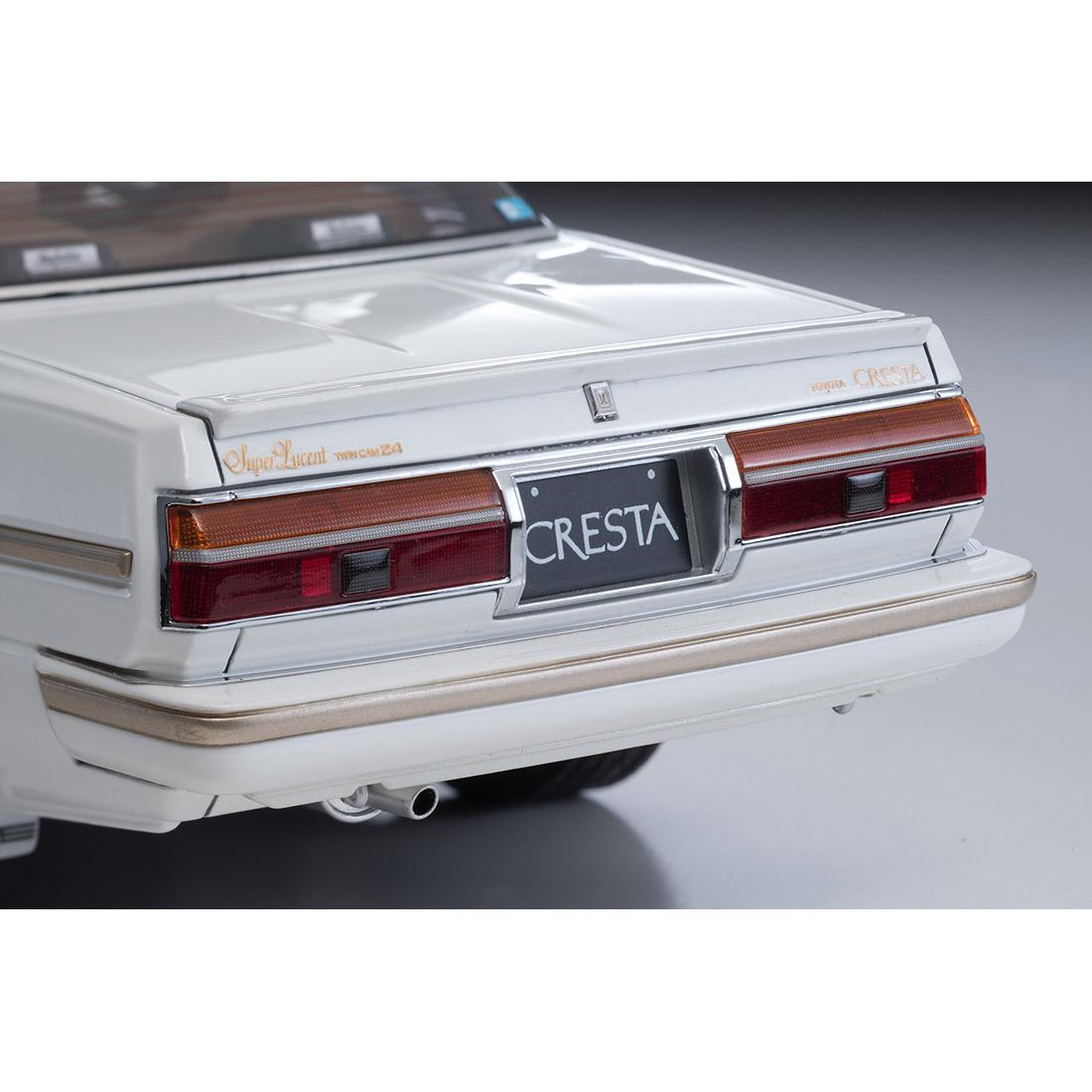 イグニッションモデル×トミーテック T-IG1809『クレスタ スーパールーセント エクシード(パールホワイト)』1/18 ミニカー-009
