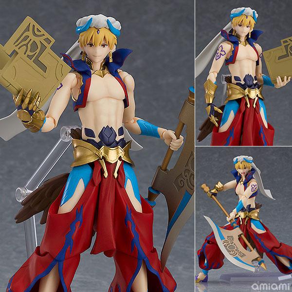figma『ギルガメッシュ』Fate/Grand Order 可動フィギュア