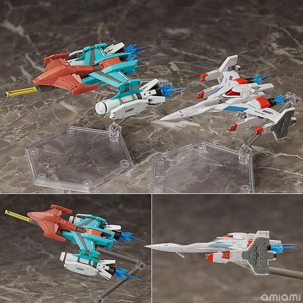 figma『Galaxian Galaxip GFX-D001a / Galaga Fighter GFX-D002f』ギャラクシアン / ギャラガ 可動フィギュア