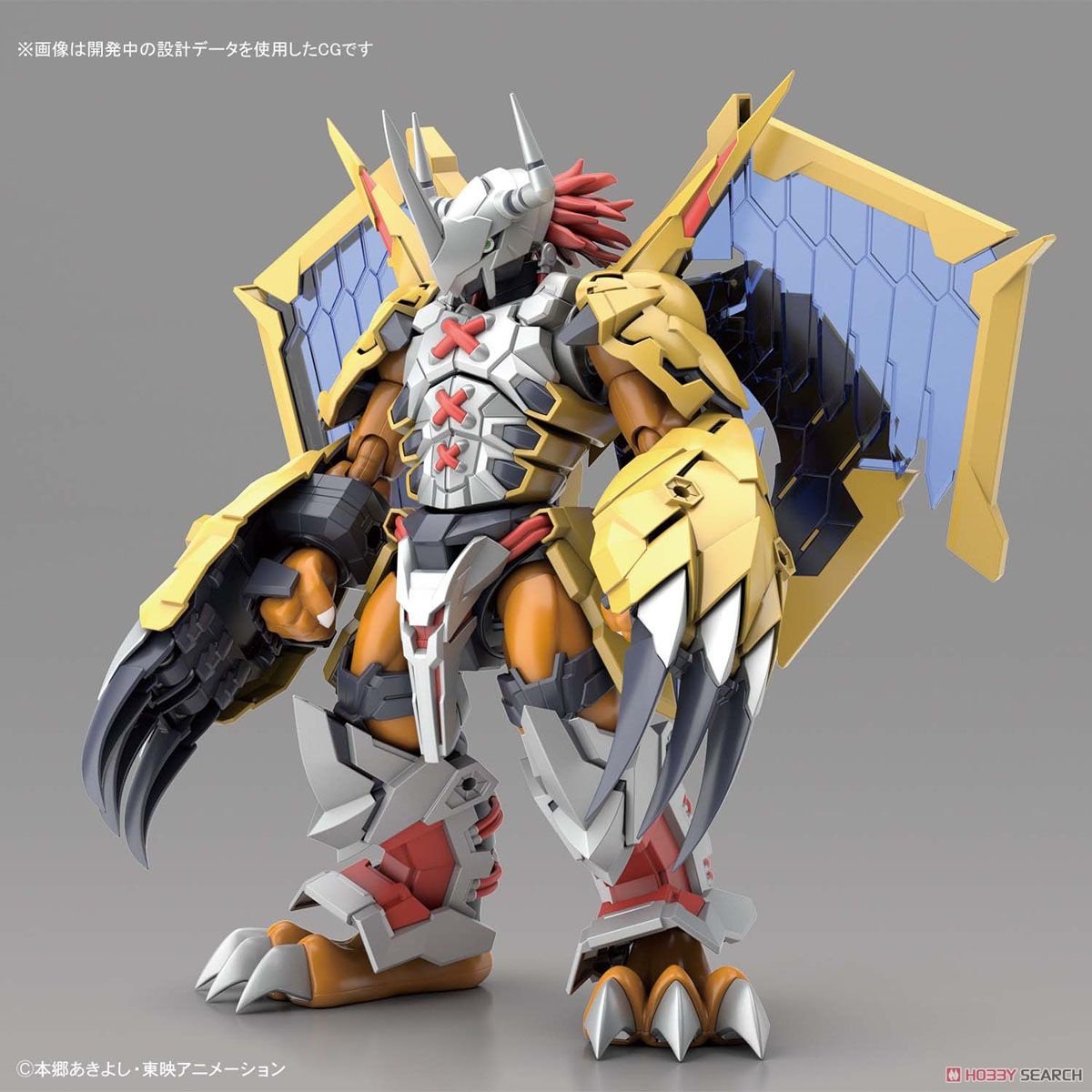 【再販】Figure-rise Standard『メタルガルルモン(AMPLIFIED)』デジモンアドベンチャー プラモデル-009