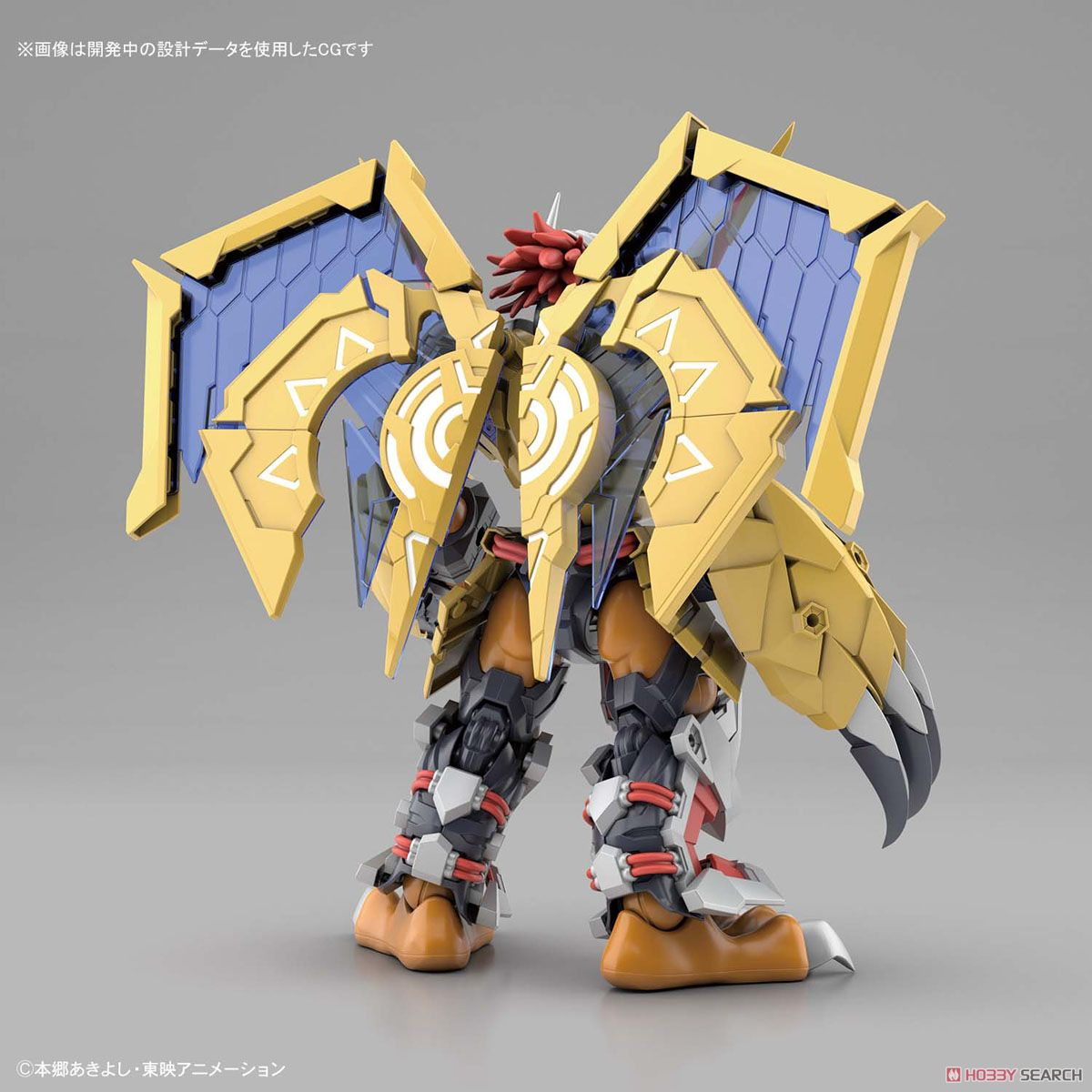 【再販】Figure-rise Standard『メタルガルルモン(AMPLIFIED)』デジモンアドベンチャー プラモデル-010