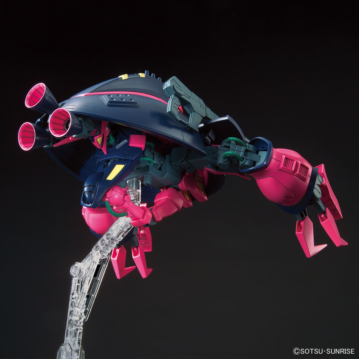 HGUC 1/144『バウンド・ドック』機動戦士Zガンダム プラモデル-007