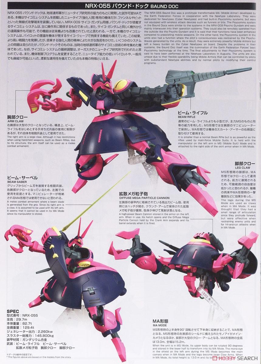 HGUC 1/144『バウンド・ドック』機動戦士Zガンダム プラモデル-023