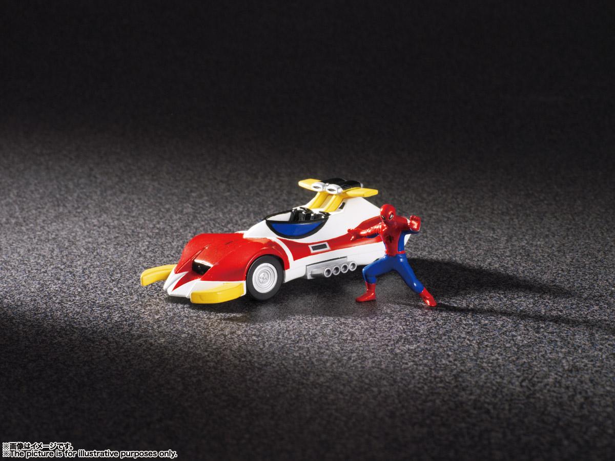 超合金魂 GX-33R『レオパルドン&マーベラー召喚セット』スパイダーマン 変形可動フィギュア-015