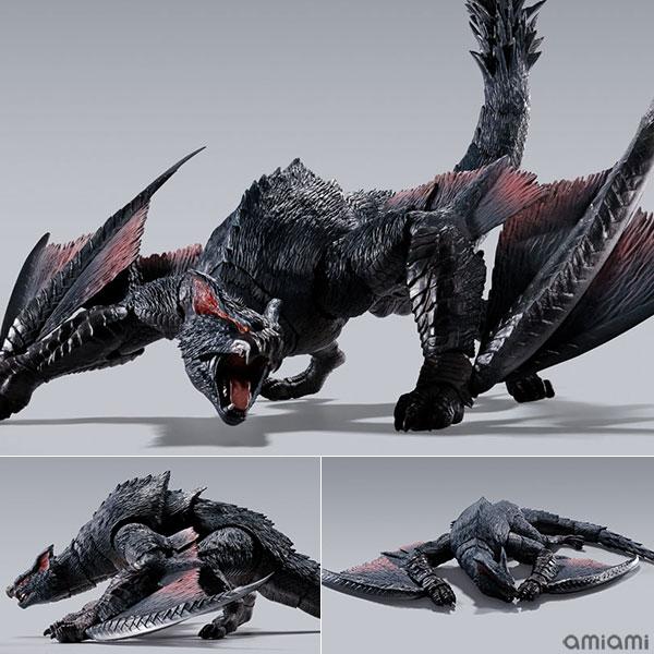 S.H.MonsterArts『ナルガクルガ』モンスターハンター 可動フィギュア