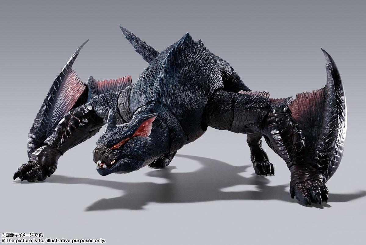S.H.MonsterArts『ナルガクルガ』モンスターハンター 可動フィギュア-001