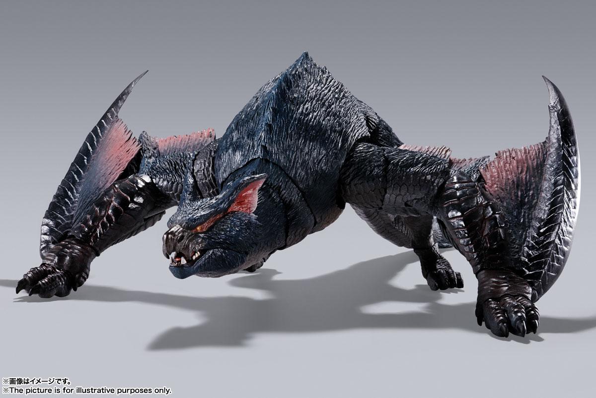 S.H.MonsterArts『ナルガクルガ』モンスターハンター 可動フィギュア-002