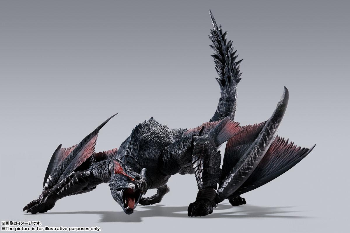 S.H.MonsterArts『ナルガクルガ』モンスターハンター 可動フィギュア-003