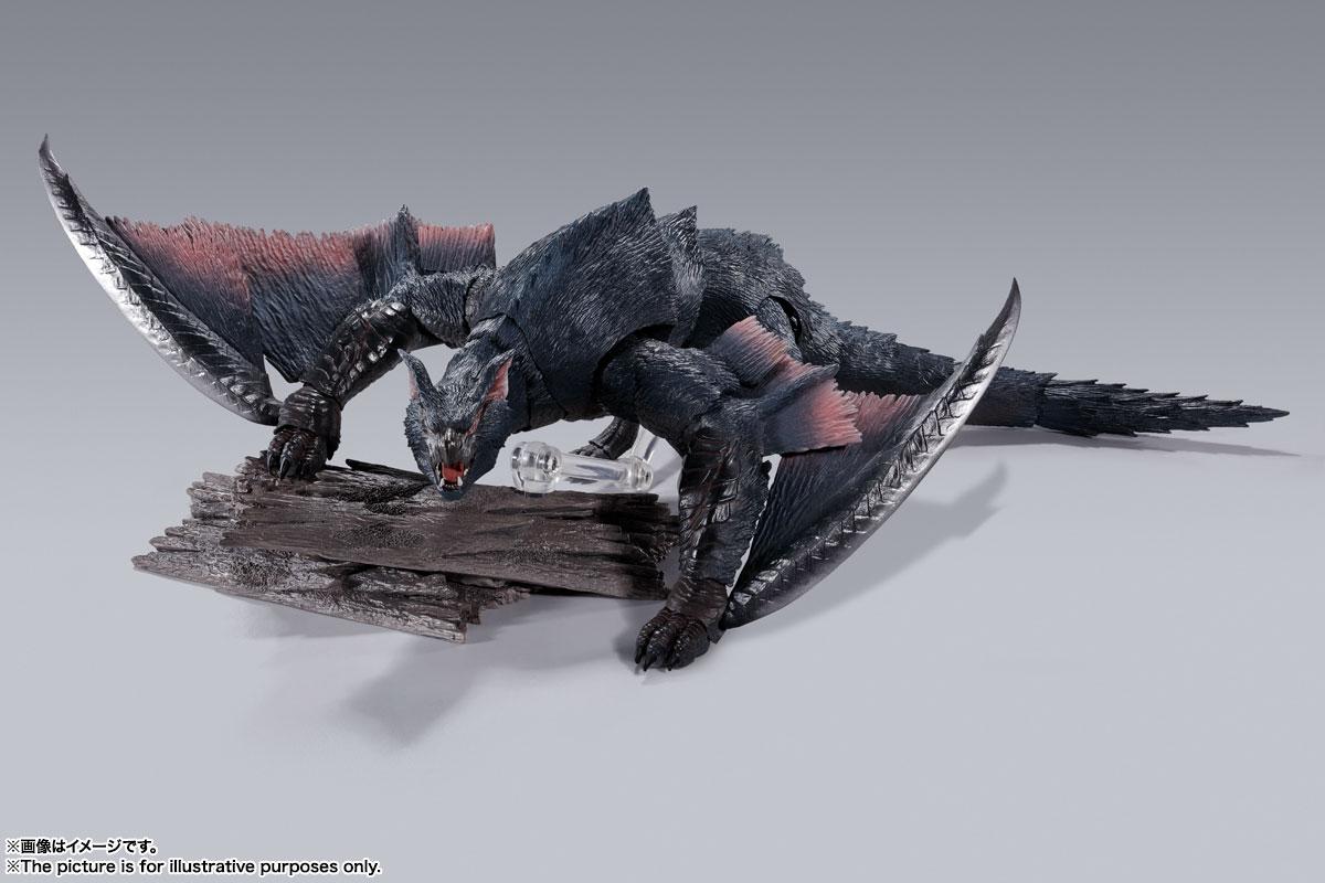 S.H.MonsterArts『ナルガクルガ』モンスターハンター 可動フィギュア-004
