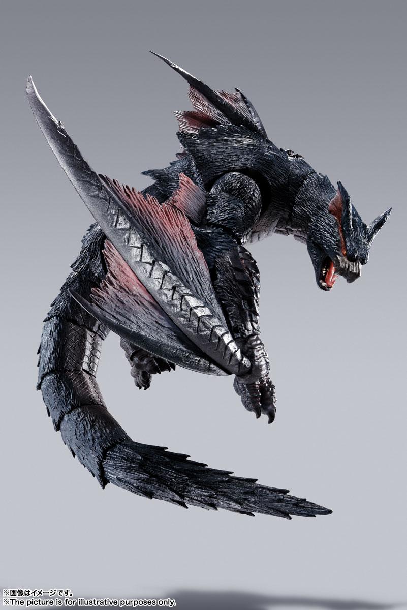 S.H.MonsterArts『ナルガクルガ』モンスターハンター 可動フィギュア-005