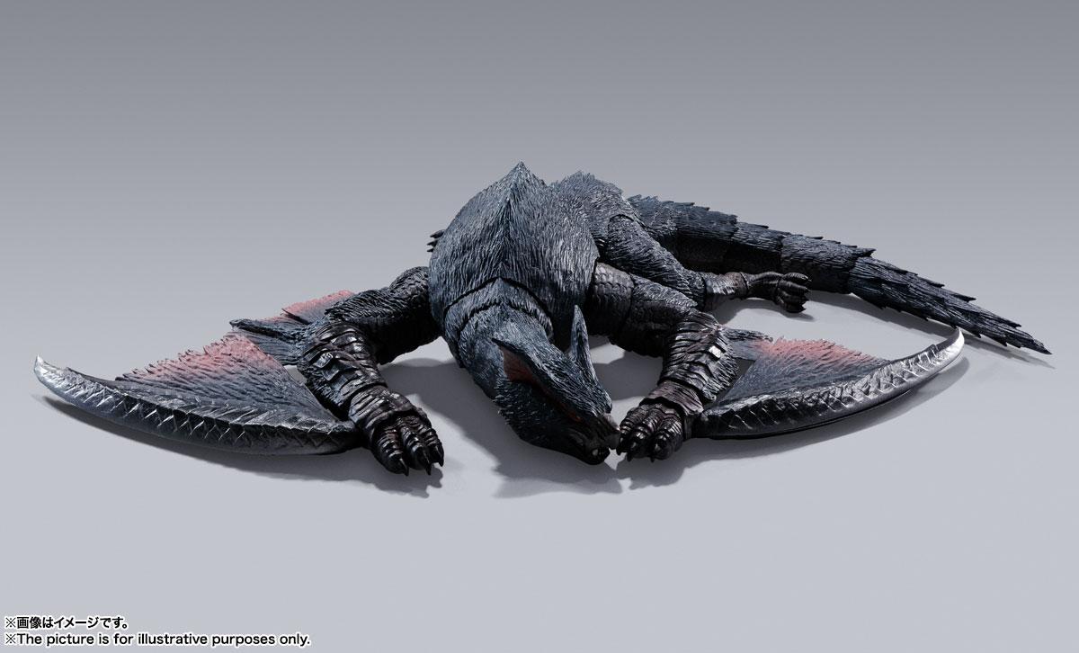S.H.MonsterArts『ナルガクルガ』モンスターハンター 可動フィギュア-006