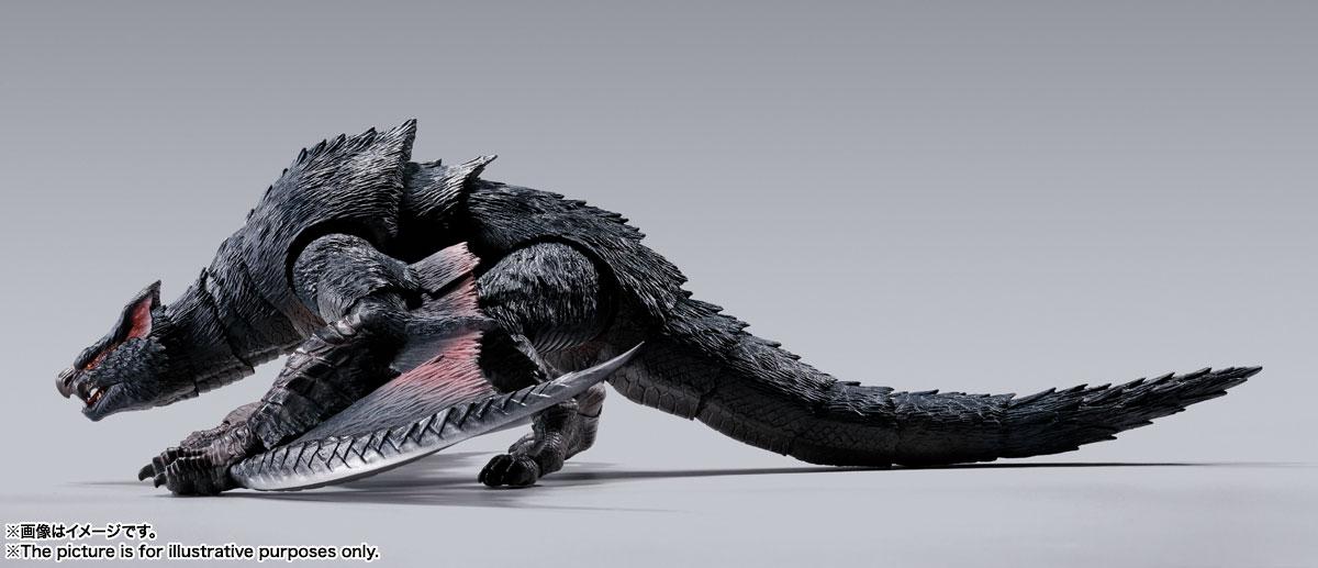 S.H.MonsterArts『ナルガクルガ』モンスターハンター 可動フィギュア-007