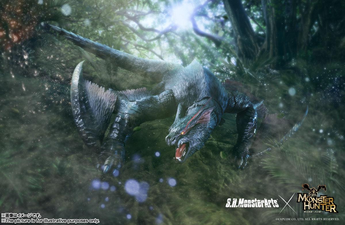 S.H.MonsterArts『ナルガクルガ』モンスターハンター 可動フィギュア-010