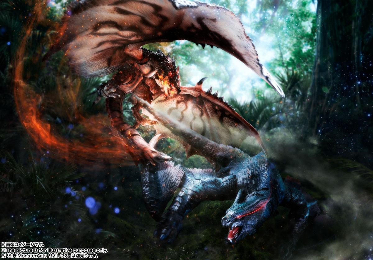 S.H.MonsterArts『ナルガクルガ』モンスターハンター 可動フィギュア-011