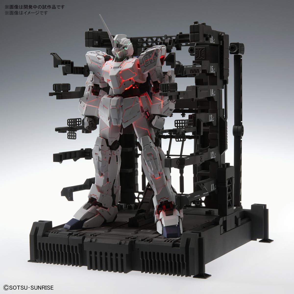 【12月再販】MGEX 1/100『ユニコーンガンダム Ver.Ka』ガンダムUC プラモデル-002
