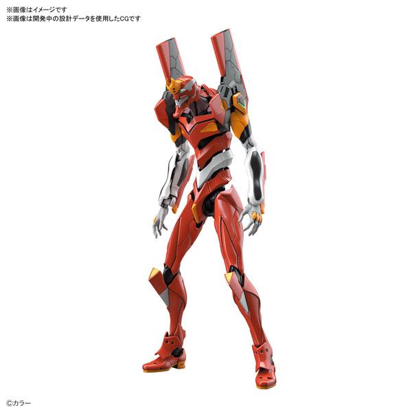 RG『汎用ヒト型決戦兵器 人造人間エヴァンゲリオン 正規実用型 2号機(先行量産機)』プラモデル