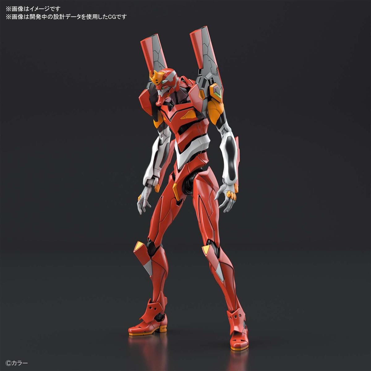 RG『汎用ヒト型決戦兵器 人造人間エヴァンゲリオン 正規実用型 2号機(先行量産機)』プラモデル-001
