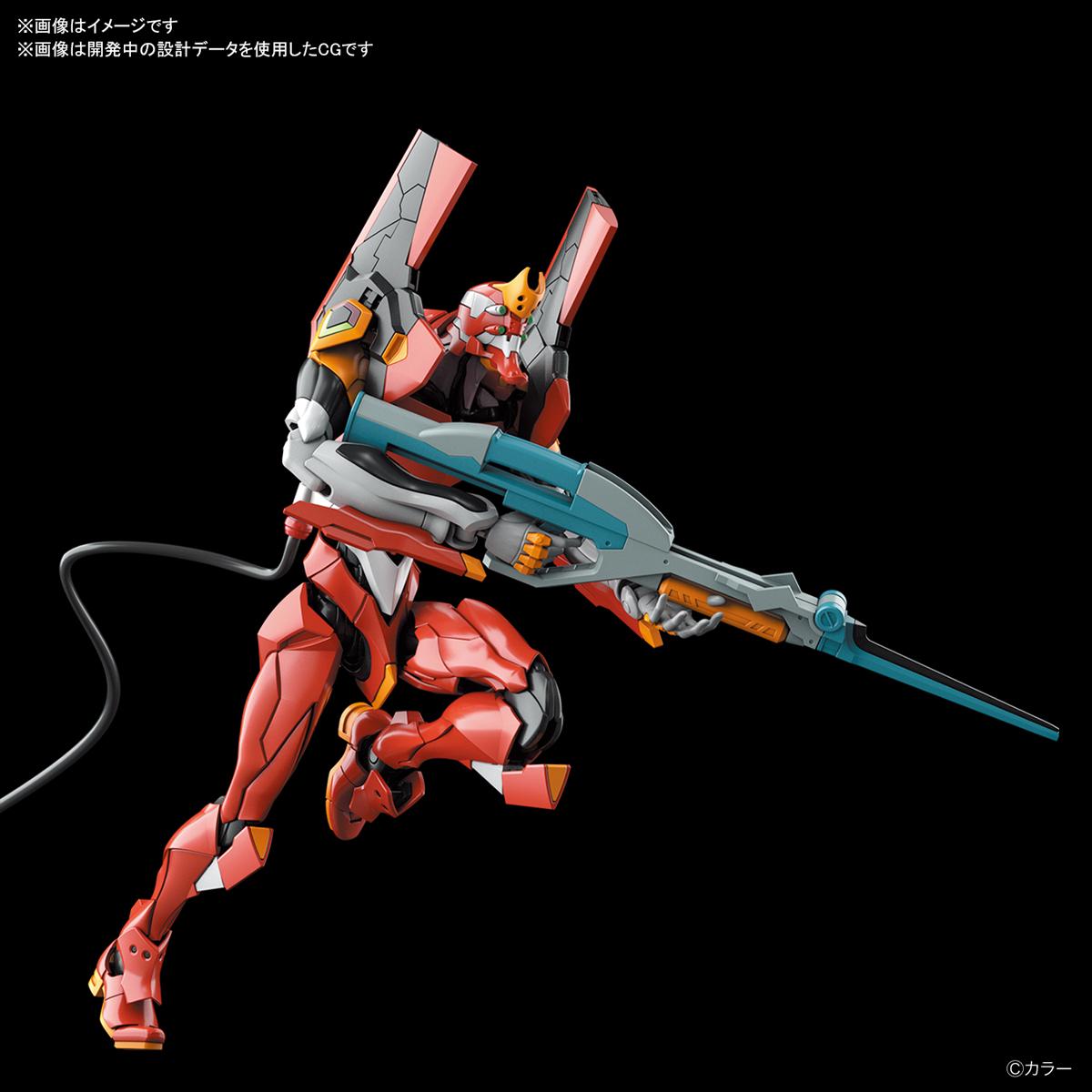 RG『汎用ヒト型決戦兵器 人造人間エヴァンゲリオン 正規実用型 2号機(先行量産機)』プラモデル-003