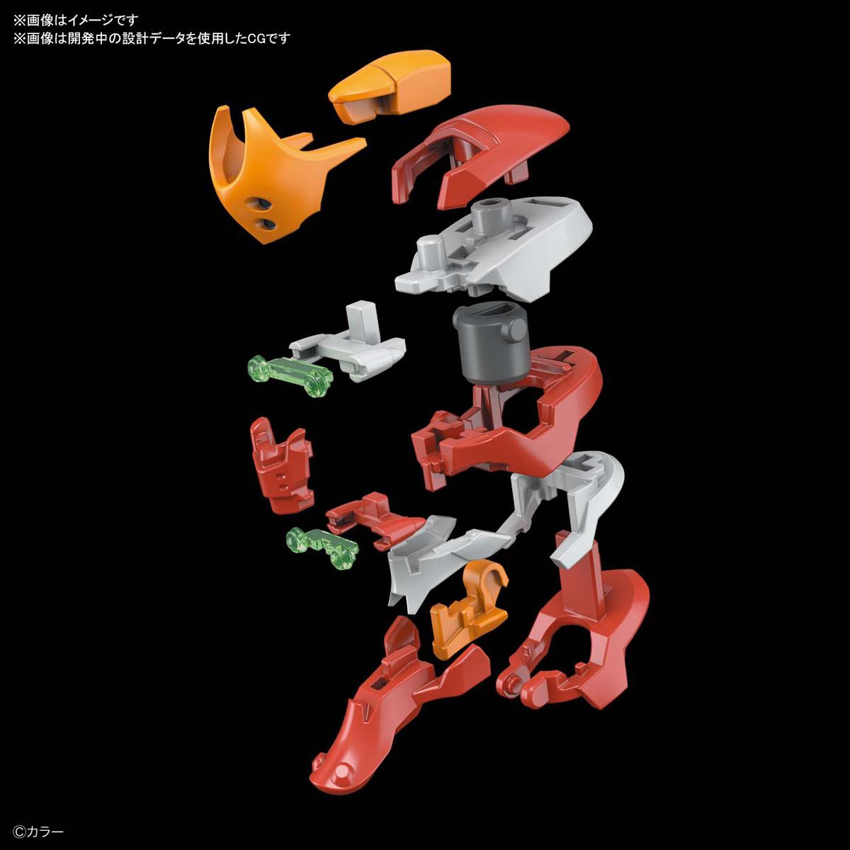 RG『汎用ヒト型決戦兵器 人造人間エヴァンゲリオン 正規実用型 2号機(先行量産機)』プラモデル-004
