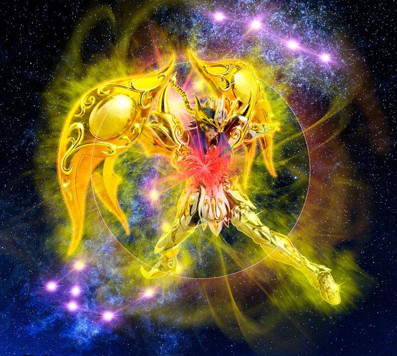 【再販】聖闘士聖衣神話EX『スコーピオンミロ(神聖衣)』聖闘士星矢 可動フィギュア-009