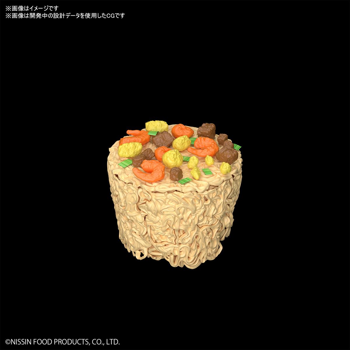 BEST HIT CHRONICLE『カップヌードル』1/1 プラモデル-009