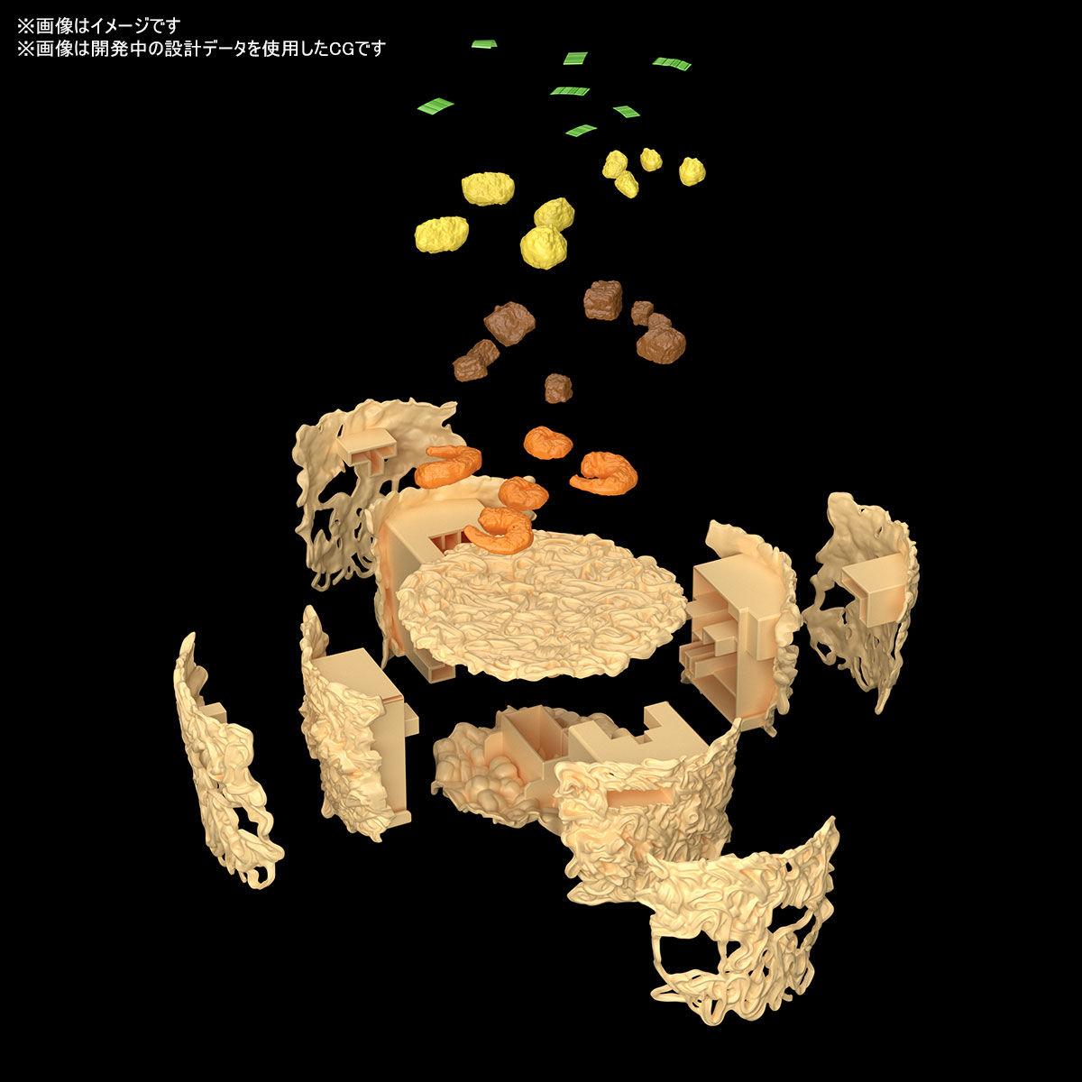 BEST HIT CHRONICLE『カップヌードル』1/1 プラモデル-010