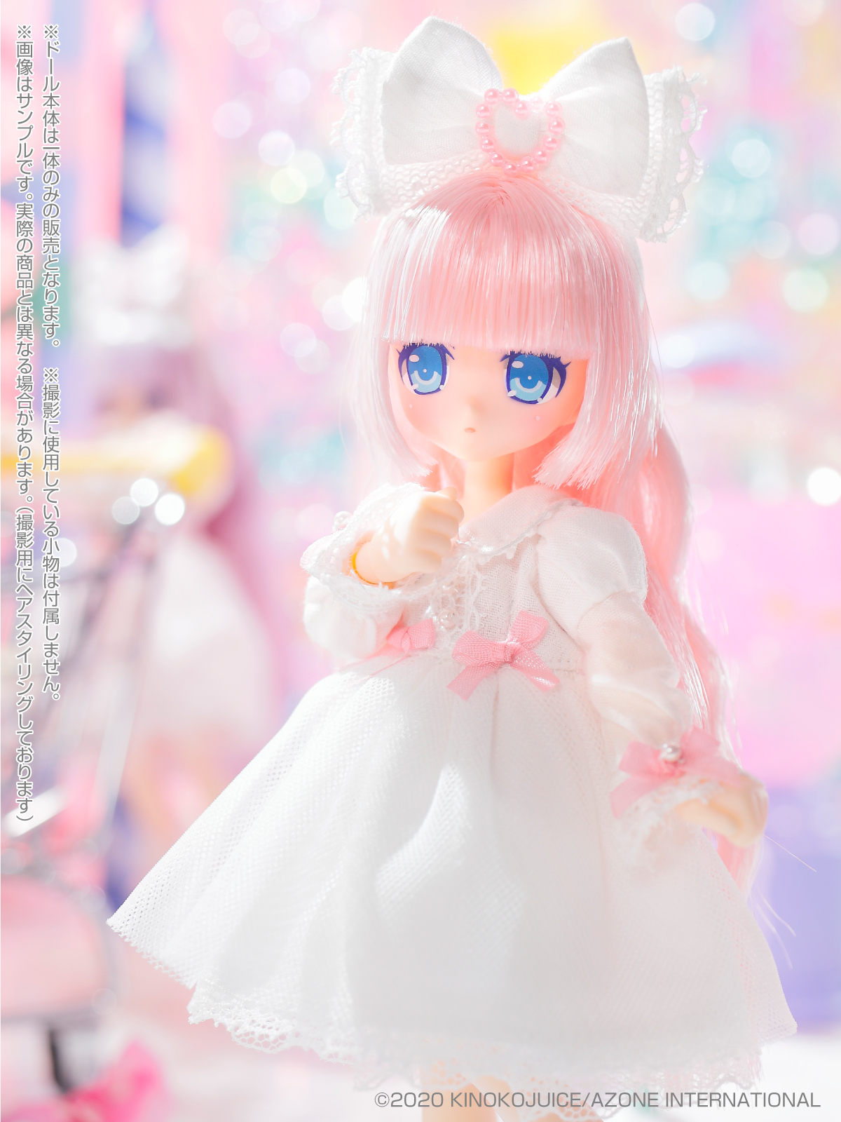キノコジュース×Lil'Fairy『Twinkle☆Candy Girls/リプー』1/12 完成品ドール-006