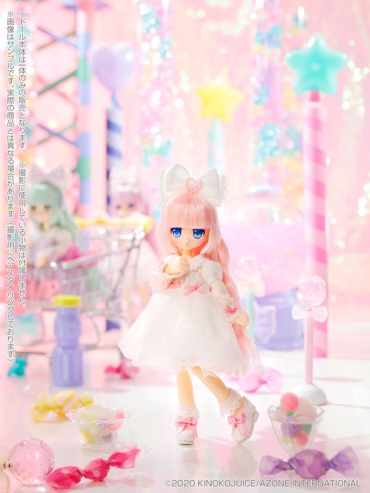 キノコジュース×Lil'Fairy『Twinkle☆Candy Girls/リプー』1/12 完成品ドール-008