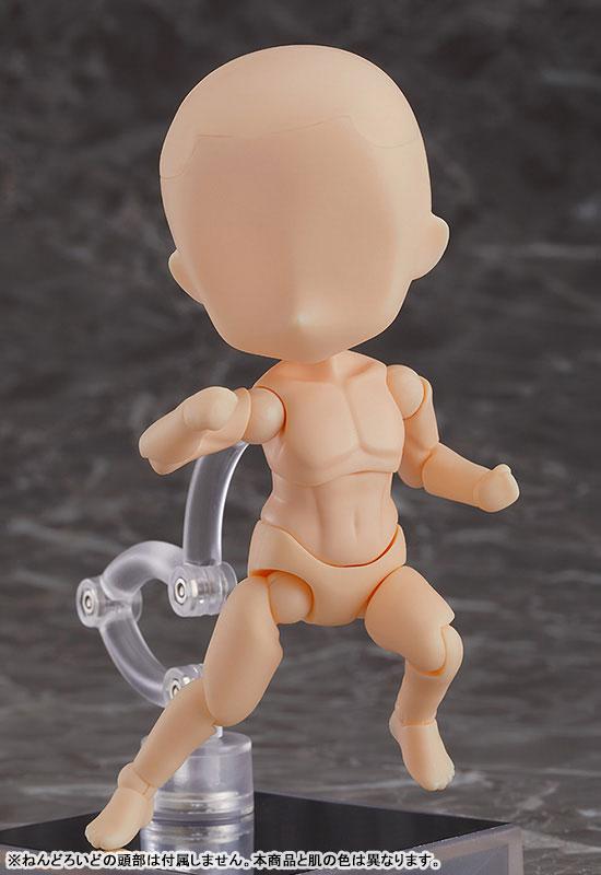 ねんどろいどどーる『archetype:Man(peach/ピーチ)』ドール素体-002