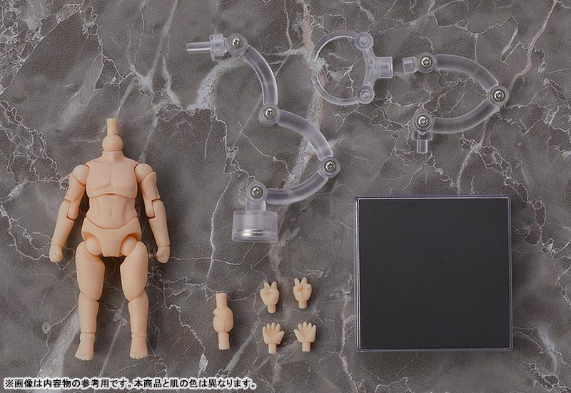 ねんどろいどどーる『archetype:Man(peach/ピーチ)』ドール素体-004