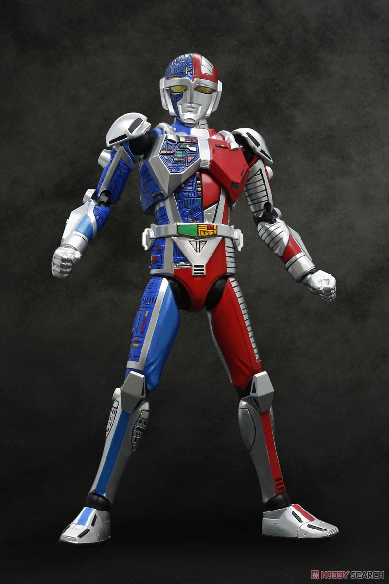 HAF(ヒーローアクションフィギュア)『メタルダー』可動フィギュア-001