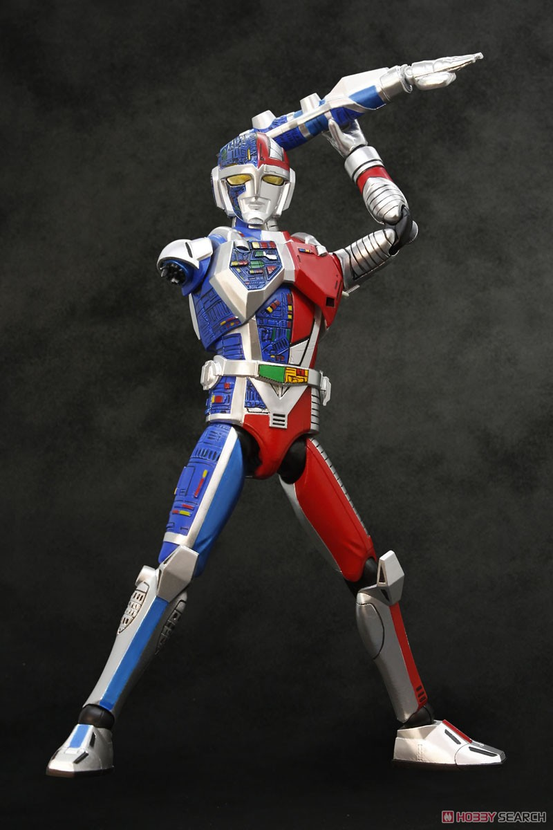HAF(ヒーローアクションフィギュア)『メタルダー』可動フィギュア-005