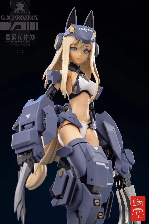 G.N.PROJECT『WOLF-001 ウルフアーマーセット』1/12 可動フィギュア-006