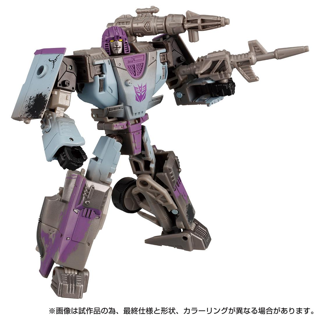 トランスフォーマー ウォーフォーサイバトロン『WFC-01 ミラージュ』可変可動フィギュア-001