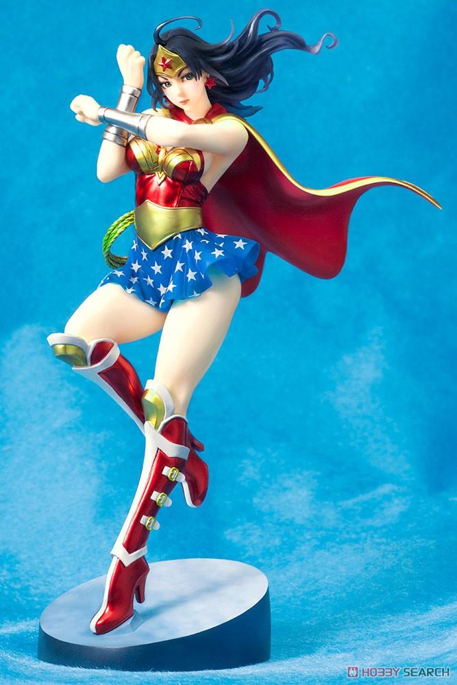 【再販】DC COMICS美少女『アーマード ワンダーウーマン 2nd Edition』DC UNIVERSE 1/7 完成品フィギュア-001