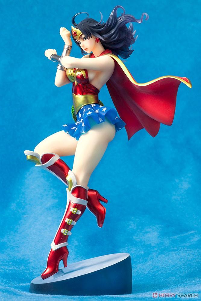【再販】DC COMICS美少女『アーマード ワンダーウーマン 2nd Edition』DC UNIVERSE 1/7 完成品フィギュア-002