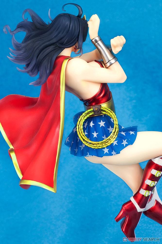 【再販】DC COMICS美少女『アーマード ワンダーウーマン 2nd Edition』DC UNIVERSE 1/7 完成品フィギュア-004