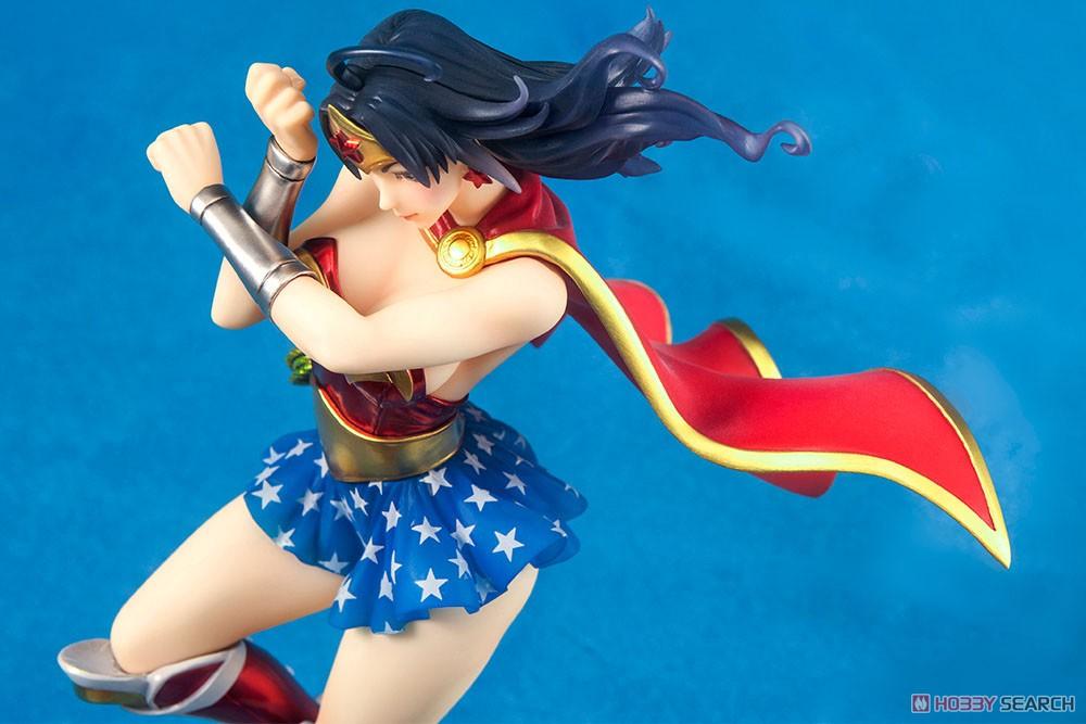 【再販】DC COMICS美少女『アーマード ワンダーウーマン 2nd Edition』DC UNIVERSE 1/7 完成品フィギュア-006