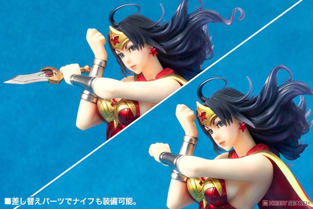 【再販】DC COMICS美少女『アーマード ワンダーウーマン 2nd Edition』DC UNIVERSE 1/7 完成品フィギュア-007
