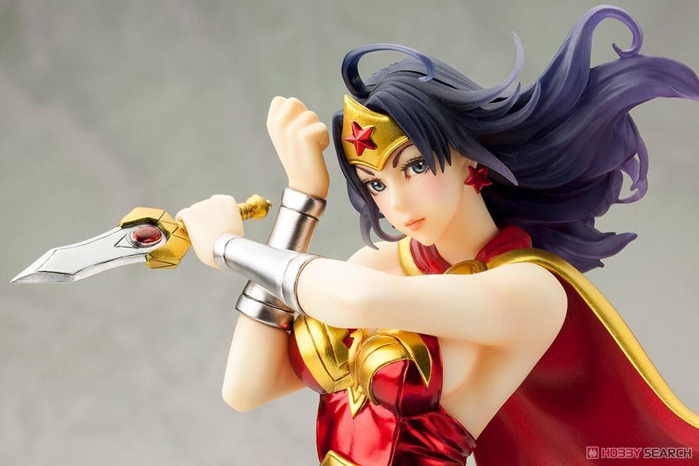 【再販】DC COMICS美少女『アーマード ワンダーウーマン 2nd Edition』DC UNIVERSE 1/7 完成品フィギュア-009
