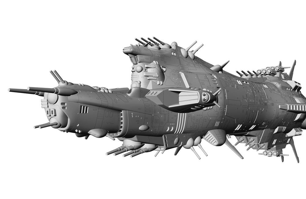 クラッシャージョウ『コルドバ』1/3000 プラモデル-004