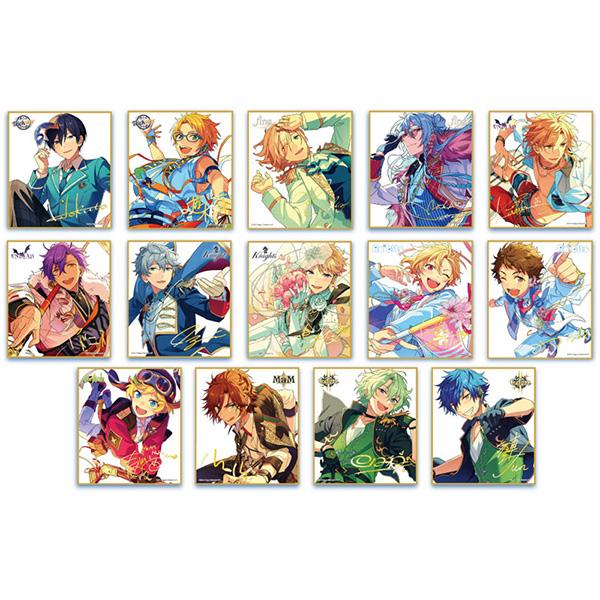 【Abox】あんスタ『あんさんぶるスターズ!ビジュアル色紙コレクション22』14個入りBOX