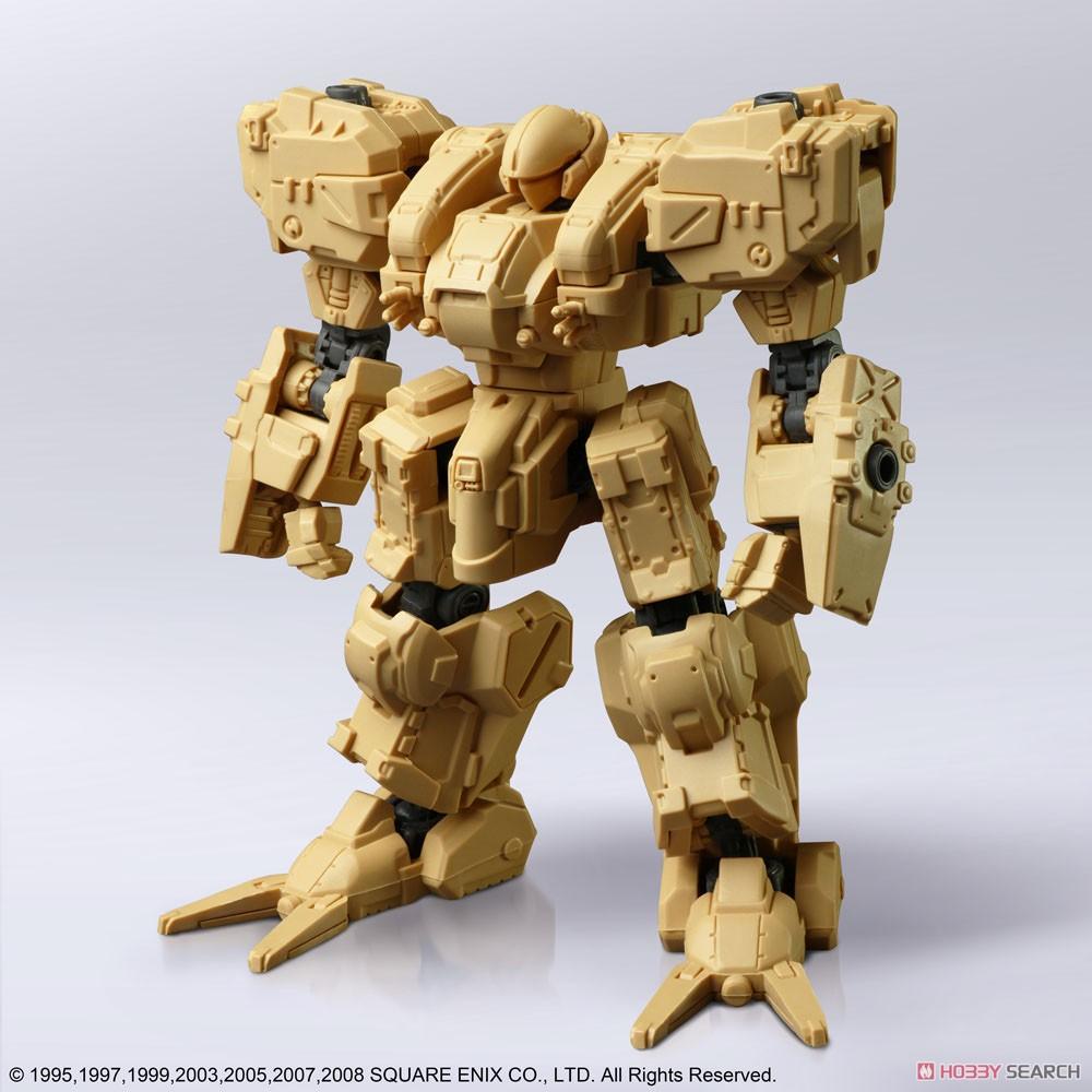 フロントミッション『ストラクチャーアーツ Vol.1』1/72 プラモデル 全4種BOX-004