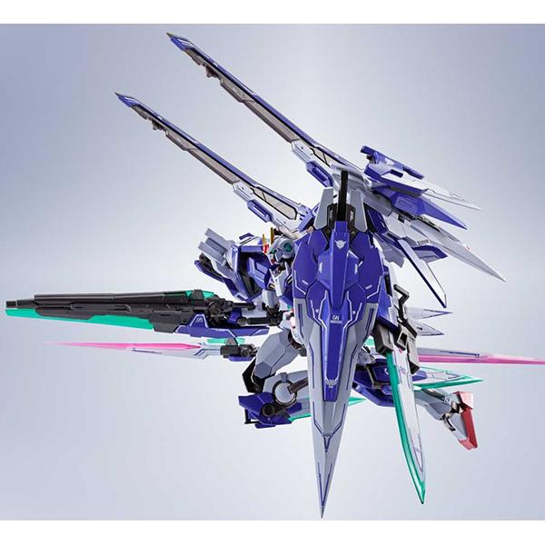 【限定販売】METAL ROBOT魂〈SIDE MS〉『ダブルオーザンライザーセブンソード+GNソードIIブラスター』ガンダム00 可動フィギュア