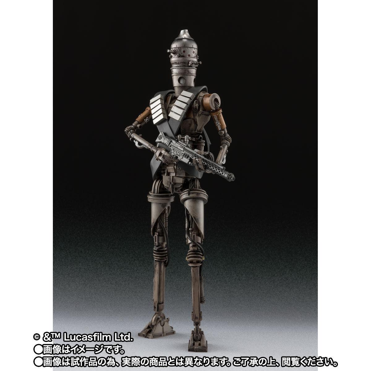 【限定販売】S.H.Figuarts『IG-11(STAR WARS:The Mandalorian)』マンダロリアン 可動フィギュア-002
