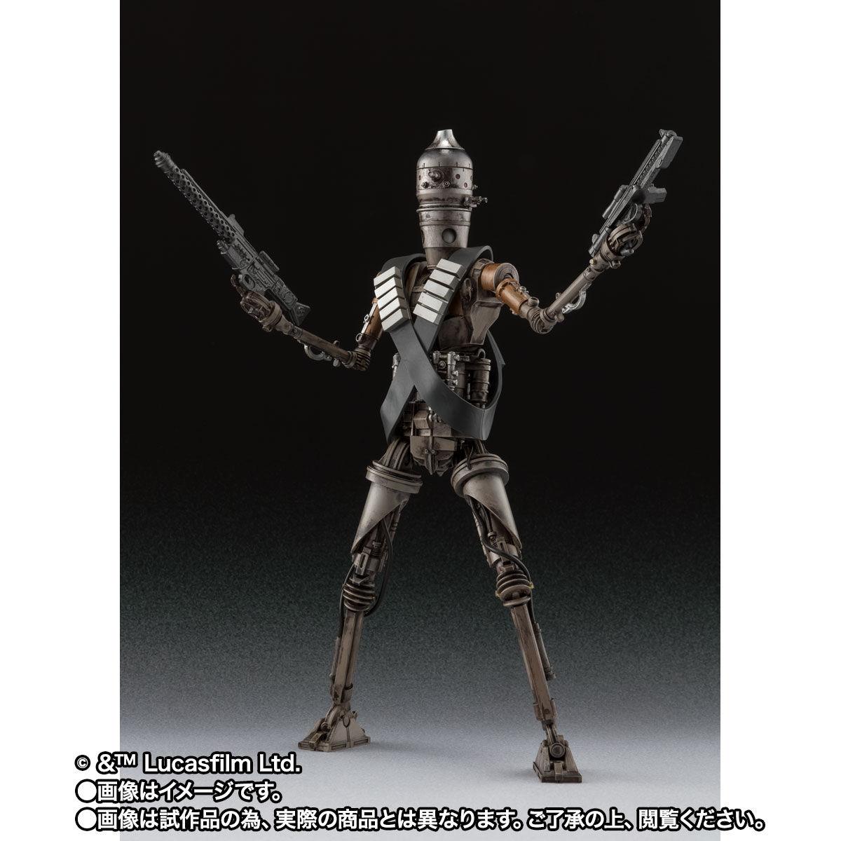 【限定販売】S.H.Figuarts『IG-11(STAR WARS:The Mandalorian)』マンダロリアン 可動フィギュア-005